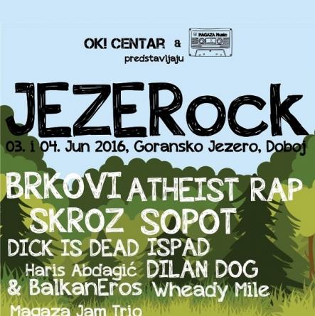 Održan prvi JEZERock festival