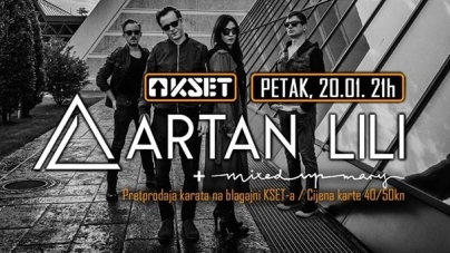 Artan Lili i Mixed up Mary večeras u zagrebačkom KSET-u