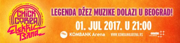Chick Corea Elektric Band 1. jula u beogradskoj Kombank areni