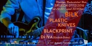 Bilk, Plastic Knives i Blackprint na Good Vibrationsu