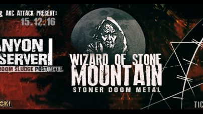 Wizard of Stone Mountain i The Canyon Observer u Attacku