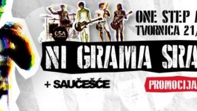 One Step Away promoviraju album 'Ni grama srama' u Tvornici kulture