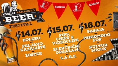 Tri vrela ljetna dana Sarajevo Beer Festivala