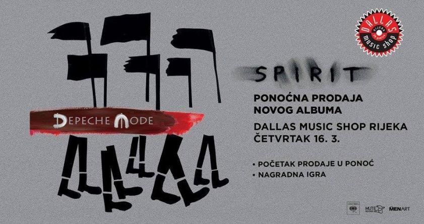 Ponoćna prodaja novog albuma Depeche Mode u riječkom Dallasu