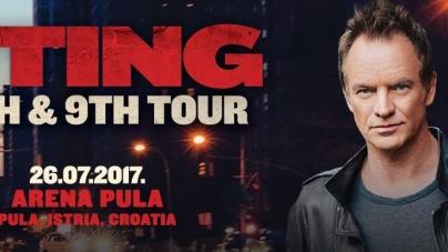 Sting se vraća u pulsku Arenu