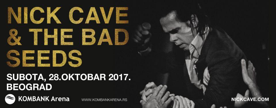 Od danas u prodaju ulaznice za koncert Nick Cavea & The Bad Seeds u Kombank Areni