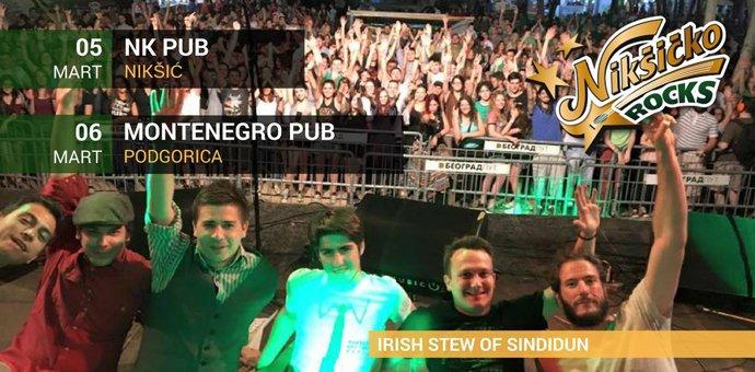 Irish Stew ove subote u Božidarcu promovišu novi album