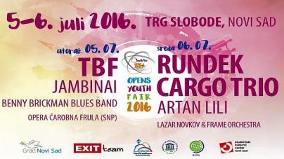 OPENS Youth Fair u Novom Sadu 5. i 6. jula