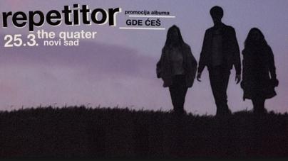 Repetitor 25. marta u novosadskom klubu The Quarter