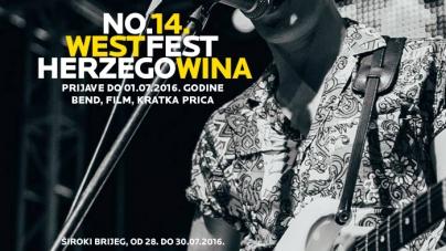 Otvoren natječaj za 14. izdanje WHFesta
