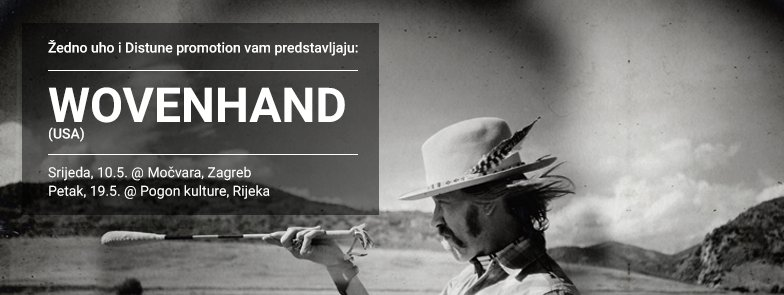 Wovenhand sutra u zagrebačkom Klubu Močvara