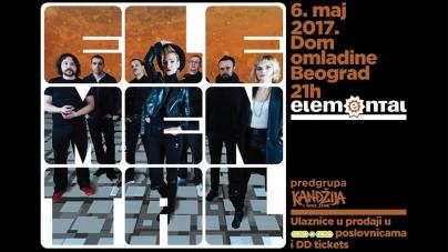 Elemental pred veliki beogradski koncert: Volimo te male ljudske greške