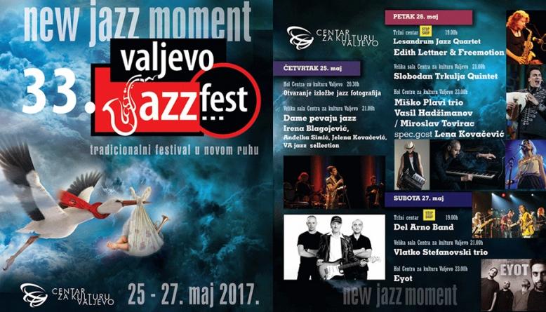 Valjevski džez festival od 25. do 27. maja