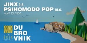 Jinxi i Psihomodo Pop na Dubrovnik Craft beer festivalu