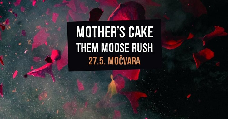 Noisy stoner funk ekstaza: Mother's Cake & Them Moose Rush 27. svibnja u Močvari