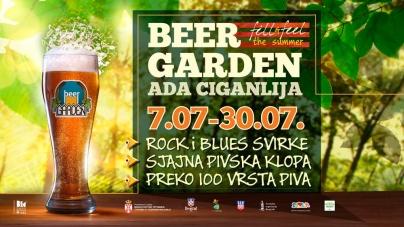 3. Beer Garden na Adi Ciganliji od 7. do 30. jula