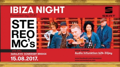 Stereo Mc's 15. avgusta na Somersby Bridge-u u Sarajevu