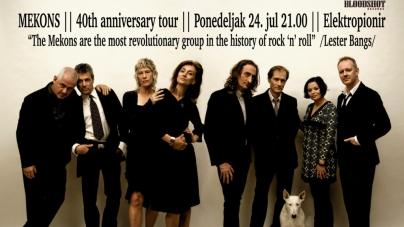 Country-rock veterani Mekons slave 40. rođendan u Beogradu