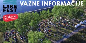 Lake Fest 2017: Korisne informacije
