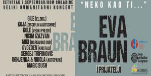 """""""Eva Braun"""" na humanitarnom koncertu 7. septembra u DOB-u"""
