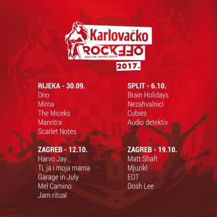 Brain Holidays pobjednici splitskog finala Karlovačko RockOffa