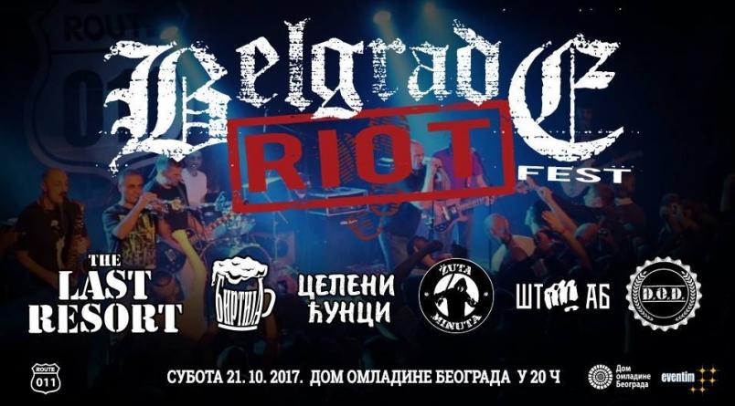 Veče sirove punk energije – Belgrade Riot III