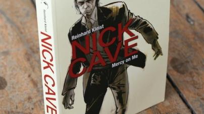 Biografija Nicka Cavea u formi stripa