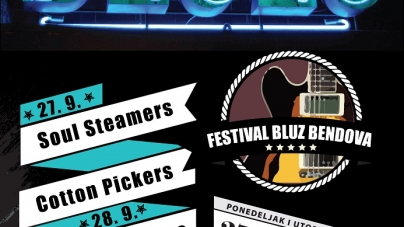 Festival bluz bendova 27. i 28. septembra u Domu kulture Studentski grad