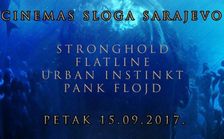Stronghold, Flatline, Urban Instinkt, Pank Flojd večeras u sarajevskoj Slogi