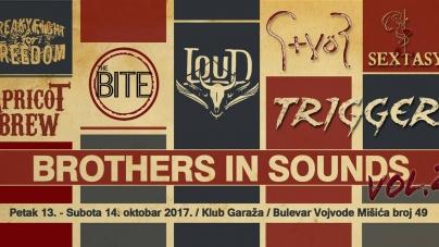 """""""Brothers in Sounds Vol. 2"""" 13. i 14. oktobra – braća po zvuku razbijaju maler"""