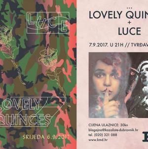 Lovely Quinces i Luce večeras u Zadru, sutra u Dubrovniku