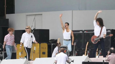Prvi video sa snimanja filma o frontmenu grupe Queen