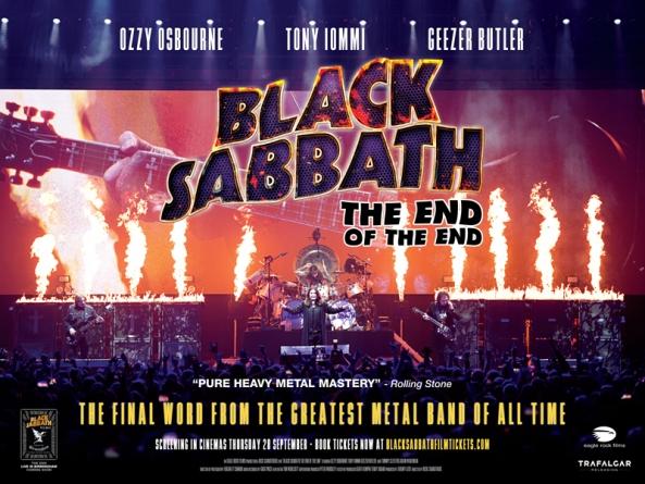Oproštajni koncert Black Sabbatha biće emitovan u 1.500 bioskopa širom sveta