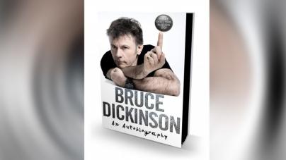 Uskoro u prodaji autobiografija Brucea Dickinsona