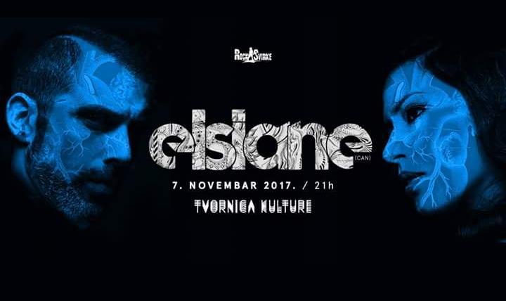 Elsiane 7. studenog u Tvornici kulture