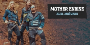 Mother Engine 23. listopada u klubu Močvara