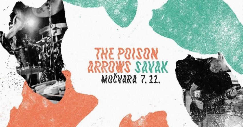 Savak i The Poison Arrows u Močvari