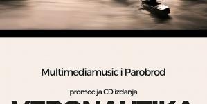 """Promocija dvostrukog albuma """"Veronautika"""" Nikole Vranjkovića u UK Parobrodu"""