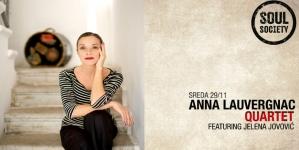 Koncert kvarteta Ane Lovernjak večeras u klubu Soul Society