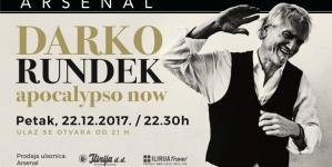 """U okviru turneje """"Apocalypso Now"""" Darko Rundek stiže u Zadar"""