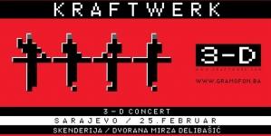 KRAFTWERK sutra po prvi put u Sarajevu