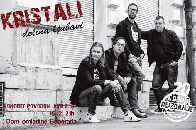 Kristali 15. decembra u Domu omladine Beograda