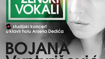 Bojana Vunturišević 14. decembra u Parobrodu