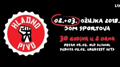 Hladno pivo rasprodalo oba zagrebačka koncerta