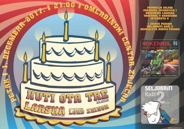 Huti Ota Tre 1. decembra proslavlja svoj peti rođendan