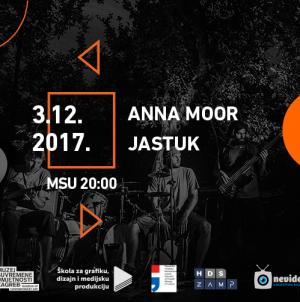 Jastuk i Anna Moor 3. prosinca na MIMO programu u MSU