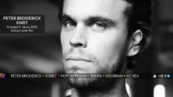 Peter Broderick prvi put u Beogradu 5. februara