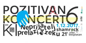 Pozitivan koncert šesti put u Novom Sadu 1. decembra