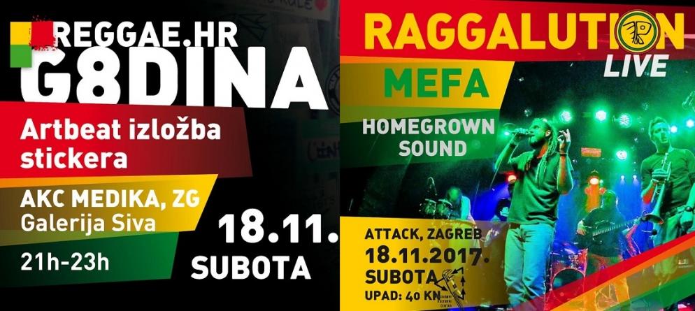 Osam godina Reggae hr-a: Raggalution u Zagrebu | Artbeat sticker izložba