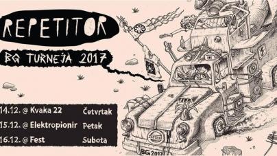 Repetitor u decembru na tri lokacije u Beogradu